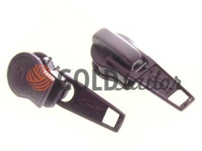 Бігунок стандартний для спіральної блискавки тип 5 фіолетовий купить оптом