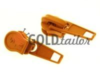 Slider standard for spiral zipper type 5 ginger