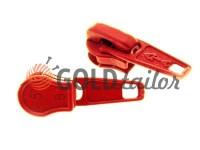 Бігунок стандартний для спіральної блискавки тип 5 червоний