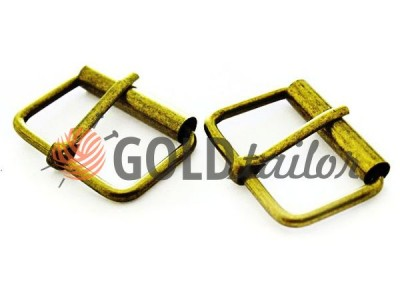 Buckle belt metal thickness 2,2mm color antique buy wholesale and retail