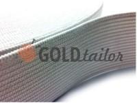 Резинка текстильна біла 20 мм - 50 мм стандартна