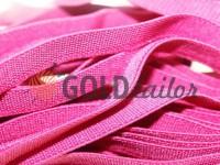 Резинка текстильна рожева 10 мм плотна, 25 м