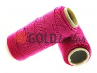 Thread elastic pink 50 m