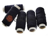 Thread elastic black 35 m