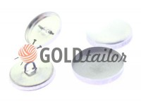 Button under the tight leg on a metal nickel 1000 pcs