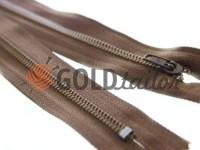 Zipper Trousering 19 cm tractor type 3, brown 300