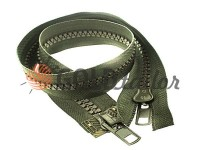 Zipper tractor type 10 two runner 60 cm, olive 093
