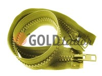 Zipper tractor type 10 two runner 60 - 100 cm, olive 090