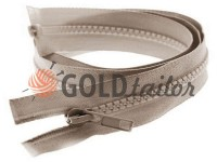 Zipper tractor type 5 one slider 40 cm - 100 cm, color beige 125