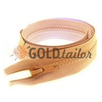 Zipper tractor type 5 one slider 40 cm - 100 cm, color beige 128