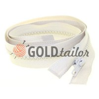 Zipper tractor type 5 one slider 40 cm - 100 cm, color beige 164