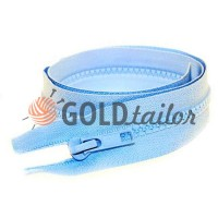 Zipper tractor type 5 one slider 40 cm - 100 cm, color blue 054
