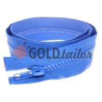 Zipper tractor type 5 one slider 40 cm - 100 cm, color blue 058