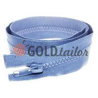 Zipper tractor type 5 one slider 40 cm - 100 cm, color blue 064