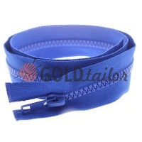 Zipper tractor type 5 one slider 40 cm - 100 cm, color blue 065
